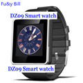 Dz09 bluetooth smart watch com câmera para samsung s5/note 2/3/4, nexus 6, htc, sony e outros smartphones android