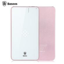 BASEUS Флагманский 5000 мАч Резервная Батарея Быстрое Зарядное Устройство Беспроводной Зарядное Устройство Power Bank для iPhone для Samsung all Mobile Phones