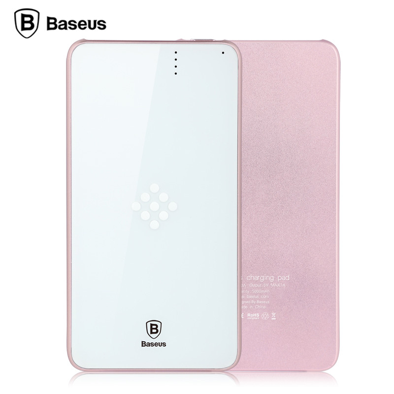 Baseus flagship 5000 mah de copia de seguridad cargador rápido de batería base d