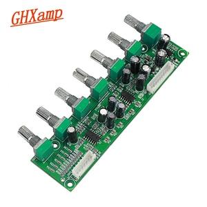 Image 2 - GHXAMP 5.1 préamplificateur tonalité canal indépendant Volume + réglage de fréquence basse 6 voies pour 5.1 amplificateur bricolage DC12 24V nouveau