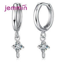 Jemmin High Quality 925 Sterling Silver Crystal Earring Components Jewelry Findings For DIY Accessories Drop Earing