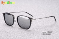NEW Classic Sunglasses EyeGlow FOCUS Women Luxury Brand Designer Polarized Sun Glasses Metal Eyewear UV400 Oculos