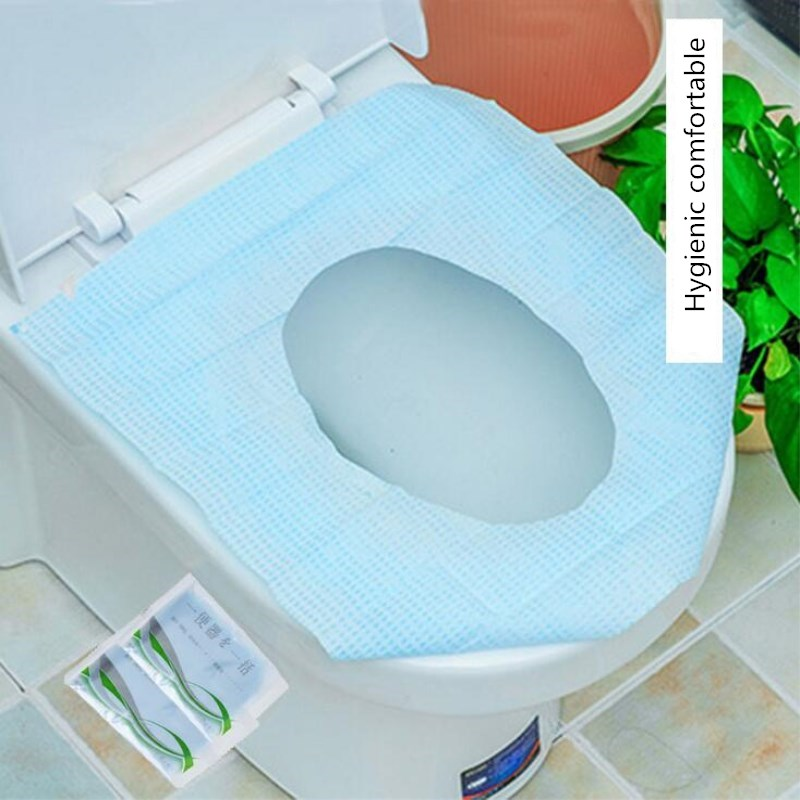 5pcs Lot Disposable Paper Toilet Seat Cover Protector