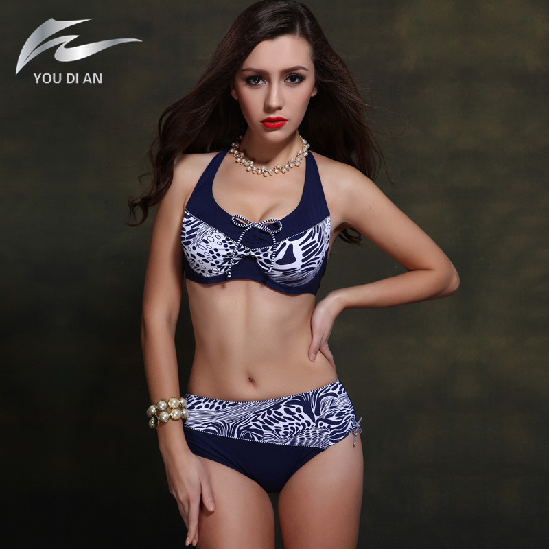 2017 New Sexy Bikini Low Waist Swimsuit Plus Size Swimwear Women Push Up Bikini Set Beachwear Bathing Suit Brazilian Biquini