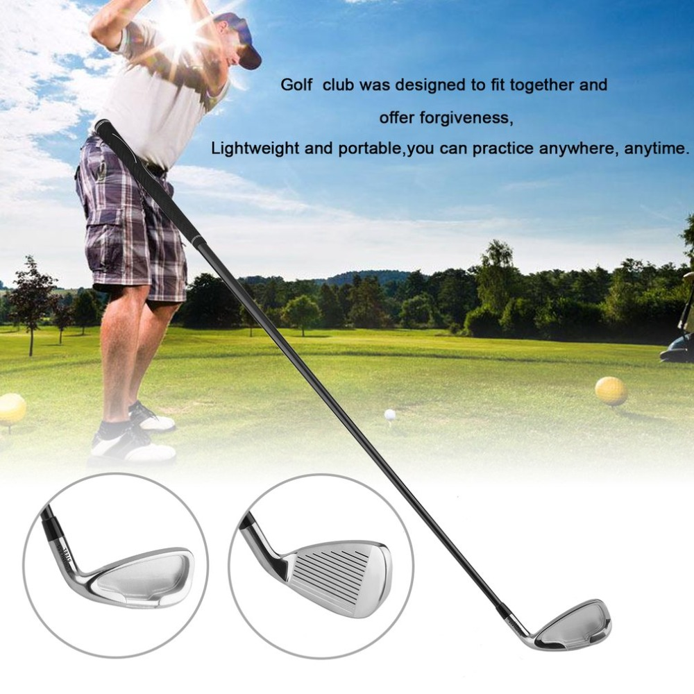 Professional Golf wedges Outdoor No.7 37 Inches Man Spin Milled Steel Shaft Right Handed Golf Clubs Practicing Beginner Club