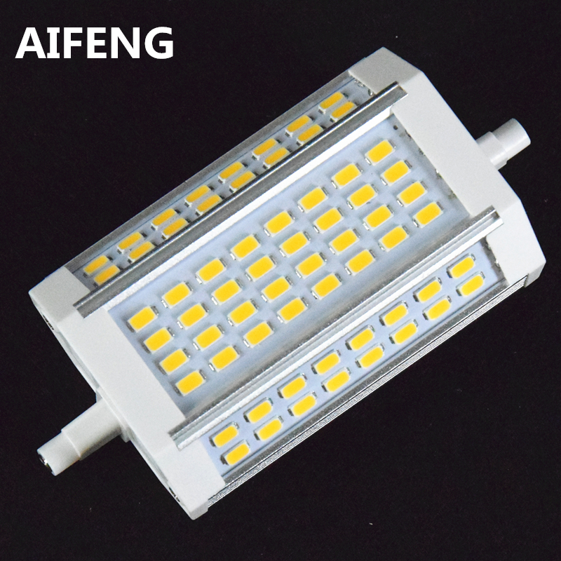 AIFENG powerful 30W 3000lm r7s led 118mm dimmable 64led 5730smd r7s led lamp Replace the halogen lamp 200-300W r b parker s the devil wins