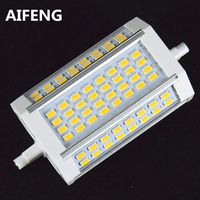 AIFENG Powerful 30W 3000lm R7s Led 118mm Dimmable 64led 5730smd R7s Led Lamp Replace The Halogen