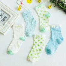 1 pairs/lot Kids cotton socks Boy,girl,Baby,Infant Keep warm stripe Dots fashion Sport's Socks Autumn/Winter Children gifts цены онлайн