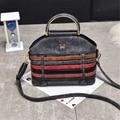 Новая сумка 2016 Новых женщин сумки Сумочка Ретро Ручной Конфеты известный дизайнер crossbody сумка Полосатый Случайные Сумки