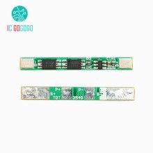 5 個 1 S 3.7 V 18650 リチウム電池保護ボード過充電過放電短絡保護 BMS PCM リチウムイオンモジュール 2 MOS