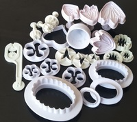 Plastic Flower Fondant Cake Decorating Tools Sugar craft Plunger Cutter Baking Cookies Mold Kitchen tool
