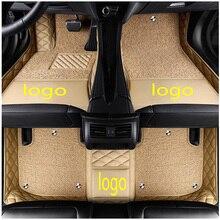 Индивидуальный Логотип подходит для автомобильных ковриков Mercedes Benz G class W460 W461 W463 AMG G55 G63 G320 G350 G500 280 320 350 стайлинга автомобилей