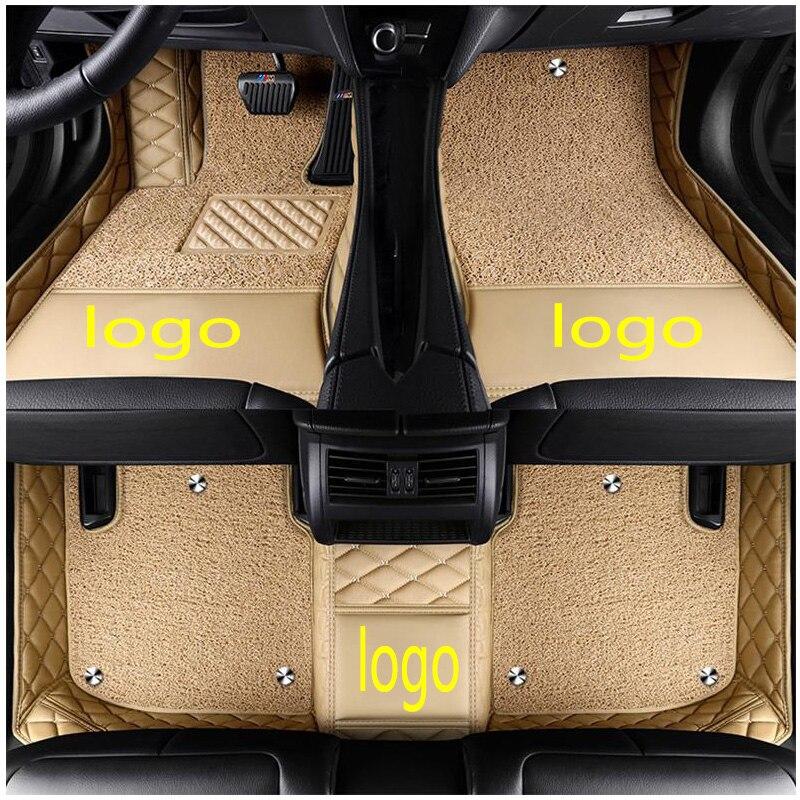 Пользовательские логотипы подходят автомобильные коврики для Mercedes Benz Maybach s400 S500 S60 автостайлинг