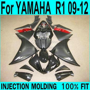 Matte Fairings For YAMAHA  R1 2009-2015 year model ( sticker customize ) 09 Injection Fairing kit free shipping ll39