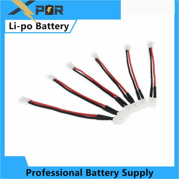 5pcs convert cable 3.7V li-po Battery for Eachine E010 Furibee F36 JJRC H36 NH010 RC Quadcopter Spare Parts