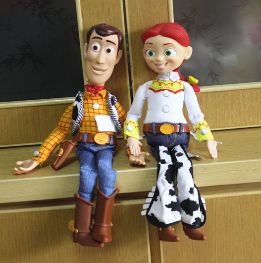 4917a0eba Free shipping Original new Cartoon Toy Story Action Figure Toys Woody &  Jessie PVC Action Figure Model Toy For Kids 40cm