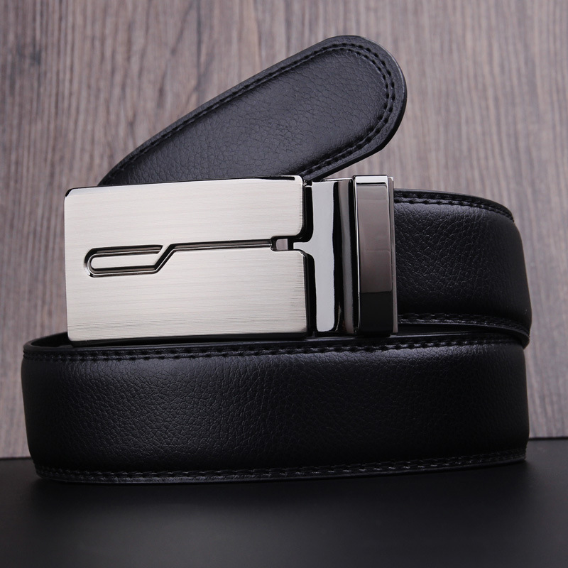 Fashion brand designer leather strap male automatic buckle belts men authentic girdle trend mens belts ceinture,cinto masculino