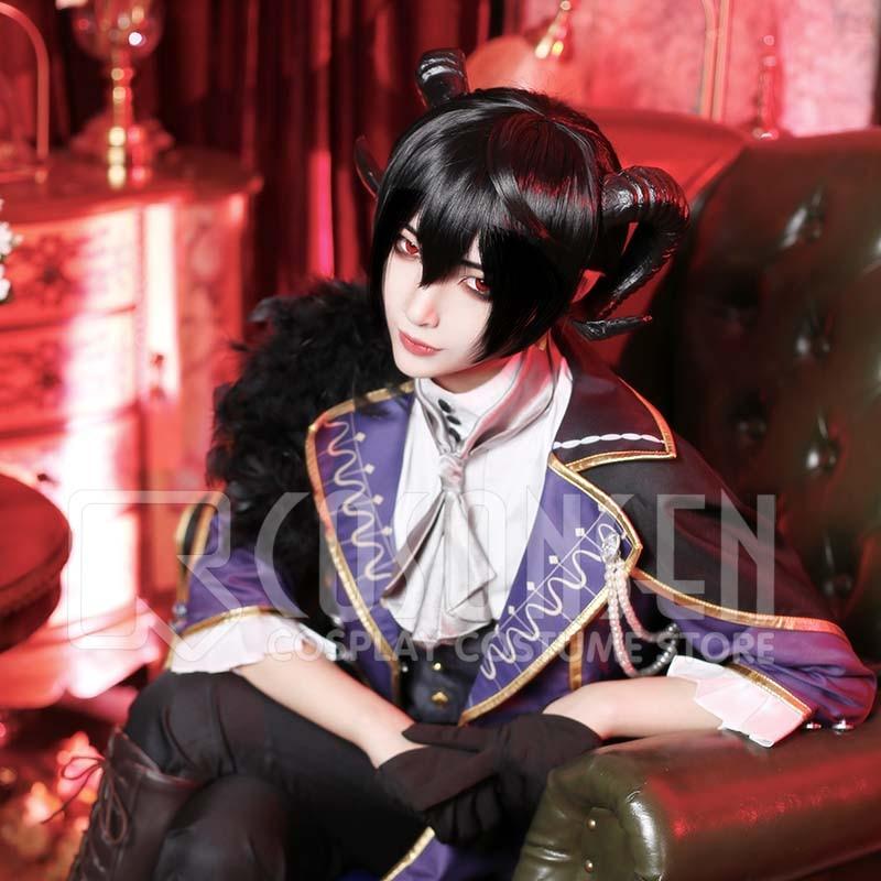 Ensemble Stars Sakuma Ritsu Scout Devil s Mansion Cosplay Costume COSPLAYONSEN full set new style