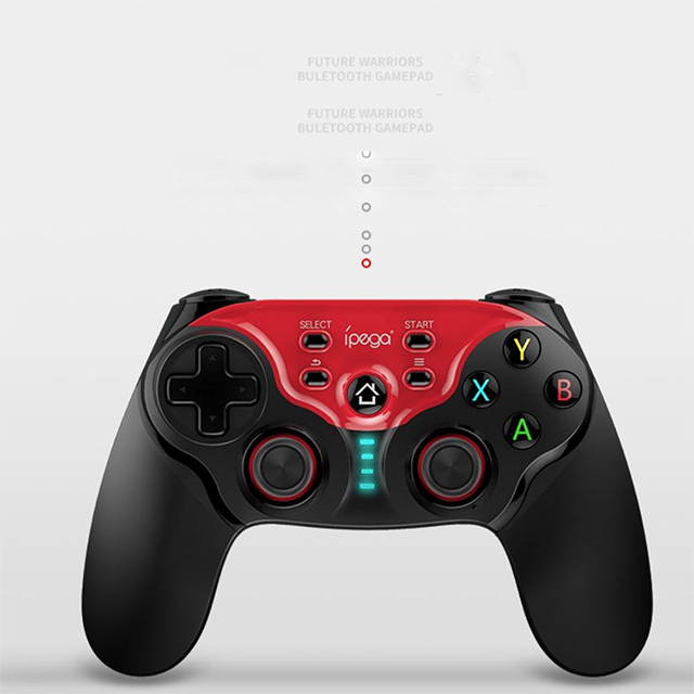 Image 5 - NEW Wireless Bluetooth Android Gamepad Controller Dual Joystick Gamepad MAC IOS Android PC IPEGA PG 9088-in Gamepads from Consumer Electronics