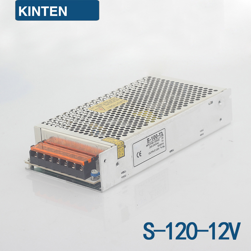 S-120-12 Series Switching Power Supply Monitoring Power LED Power Transformer Power 120W 12V10A professional switching power supply 120w 12v 10a manufacturer 120w 12v power supply transformer