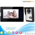 Chuangkesafe . V70T-L 1V1 Manufacturer  7 Inch Touch key video door phone monitor unlock with water-proof