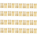 20 pair/lot Brushless Motor High Quality Banana Plug 5.0mm 5mm Gold Bullet Connector Plated For ESC Battery