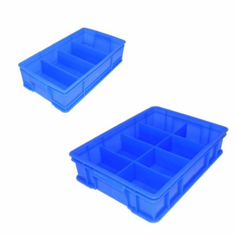 Thickening Grid Plastic Parts Box Electronic Component Materials Tool Box Screw Beads Component Storage Box