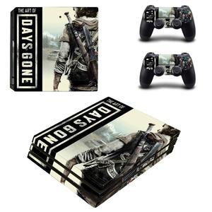 Image 2 - เกมวันหายไป PS4 Pro สติกเกอร์ผิวสำหรับ PlayStation 4 คอนโซลและตัวควบคุม PS4 Pro สติกเกอร์ผิวไวนิล