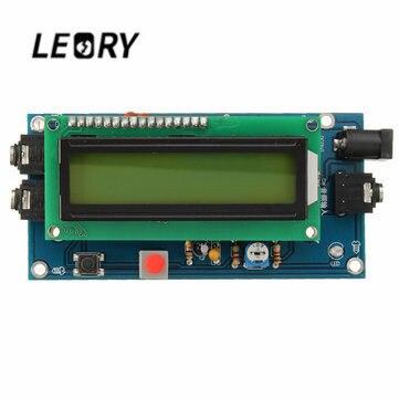 2 V/500mA lector de código Morse CW decodificador Morse código traductor Ham Radio Módulo Esencial incluye LCD