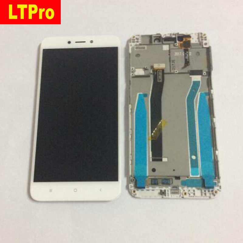 LTPro Best Working LCD Touch Screen Digitizer Assembly with Frame For Xiaomi Redmi 4X Smart Phone Display Panel Sensor parts