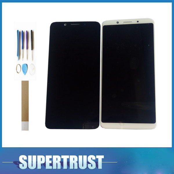 For <font><b>OPPO</b></font> A73 <font><b>F5</b></font> LCD <font><b>Display</b></font> Touch Screen Digitizer Assembly Replacement part White Black Color with Kit image