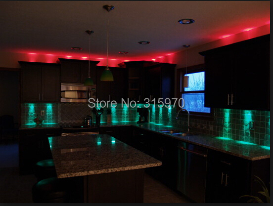 Colorful Round Led Kitchen Light 12VDC 9leds 5050SMD - LED Жарықтандыру - фото 3