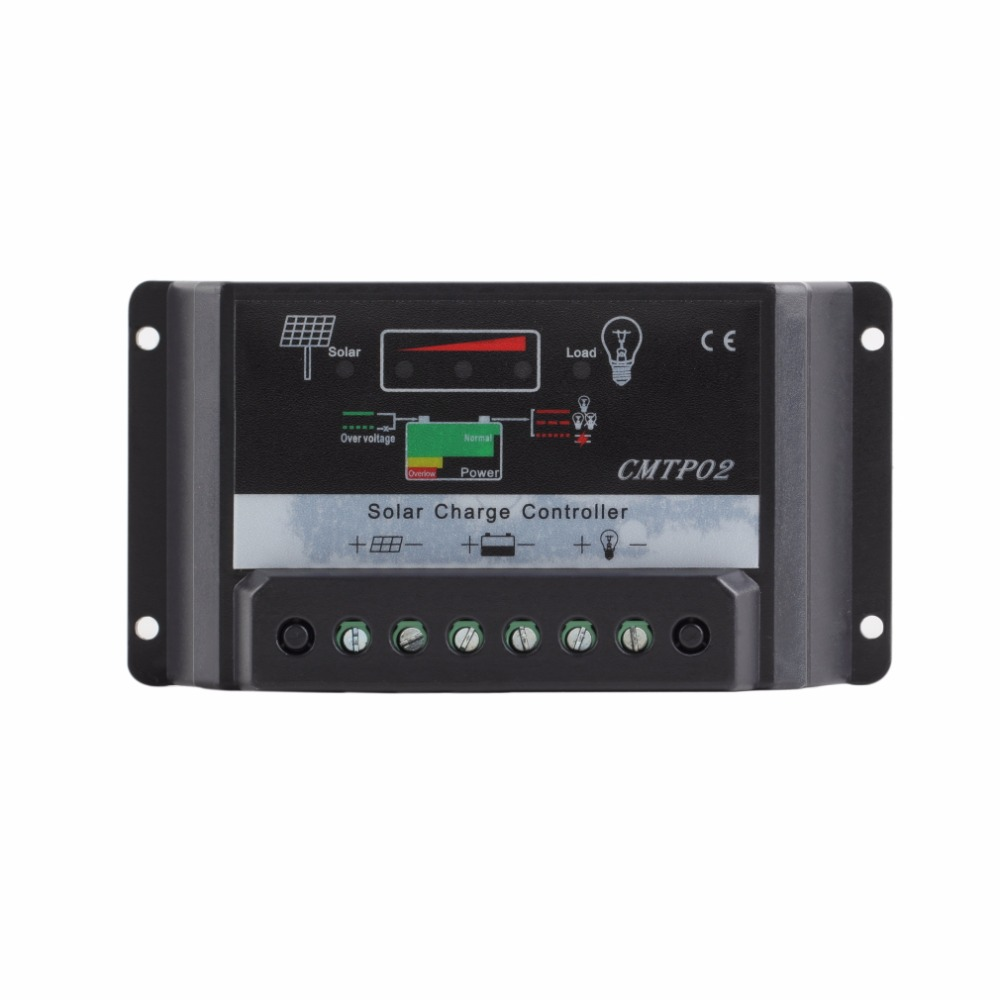 1pcs 30A 12V/24V Panel Battery Regulator PWM Solar Charge Controller LED Screen Top Sale