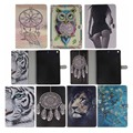 Book style PU Leather Print Pattern Skin Case cover for Apple ipad air case for ipad 5 Protective Tablet Covers