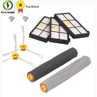 Replacement HEPA Filter Side Brush Accessories Kit For IRobot Roomba 800 900 Series 870 880 980