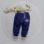 Carta Pantalones Del Algodón Del Bebé Niños Niñas Pantalones Niños Del Otoño Del Resorte Pantalones de Cintura Elástica Pantalones de Las Muchachas 2017 Ropa de Bebé 9-24meses