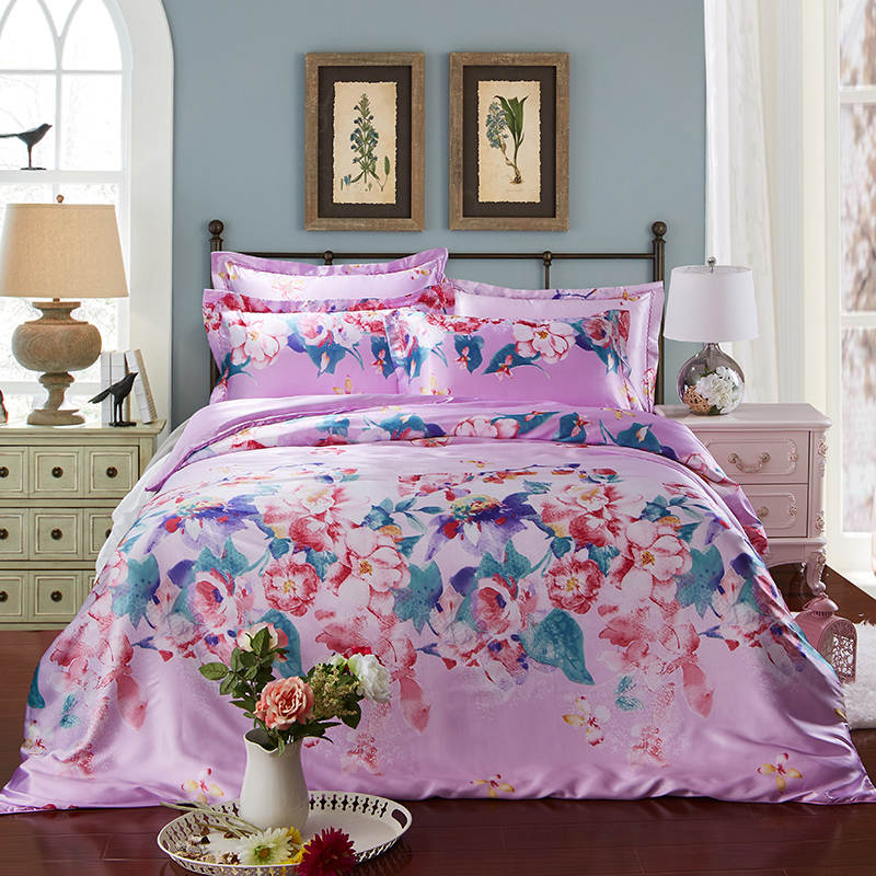 twin duvet cover satin silk bedding set bed linens coverlets duvet covers 10529