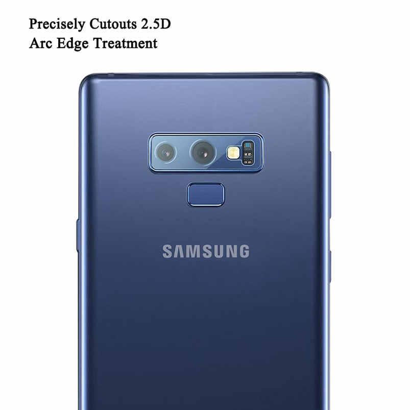 لاجهزة سامسونج جالاكسي s9 A8s A9s A6s a6 a7 a8 a9 plus 2018 نوت 9 8 عدسة الكاميرا الخلفية واقي للشاشة واقي للشاشة