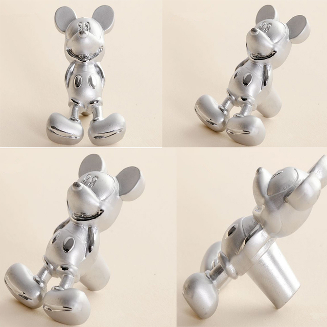 Free Shipping 12pcs Mickey Mouse Baby Bedroom Drawer Handles