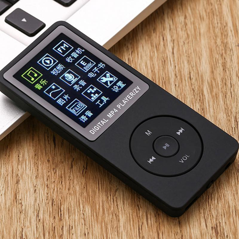 Music-Player Radio Walkman Fm-Stereo Microphone Sports Mp3 Built-In With And Plug-In-Card