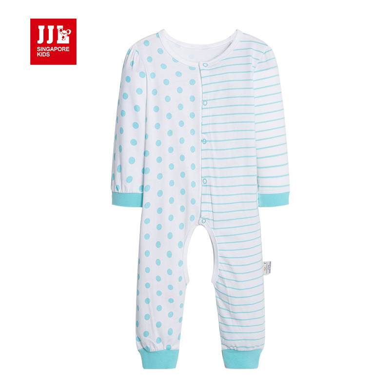 baby rompers dissymmetry newborn pajamas one piece infant clothes for unisex jumpsuit 2015 new arrival