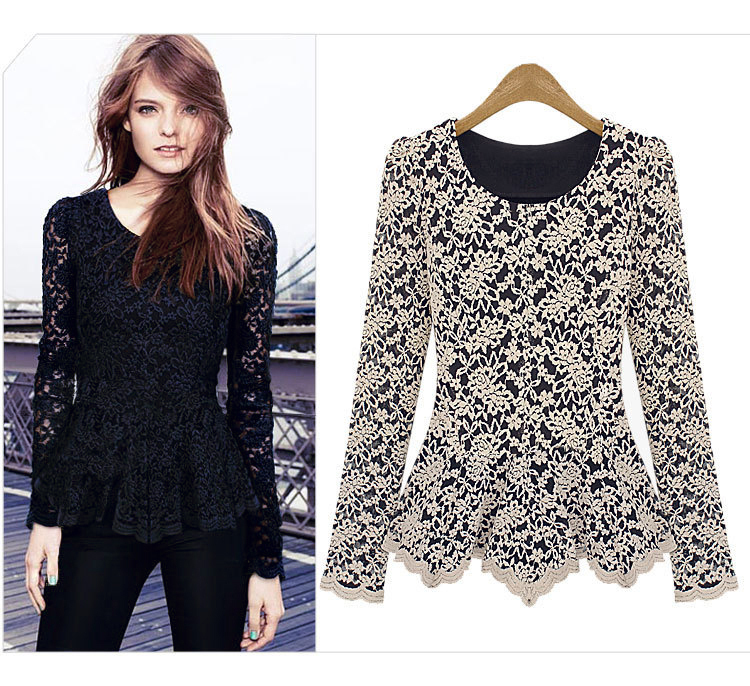 Blouses With Lace Design - My Blouses