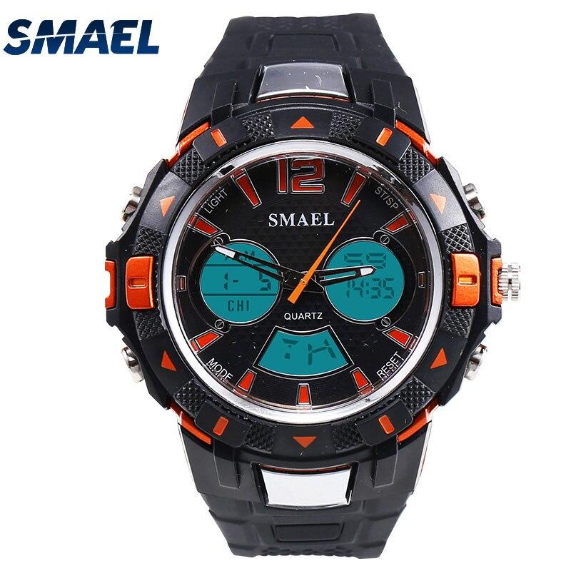 Мода привела Uhren способом Спорт <font><b>Uhr</b></font> armbanduhren stil wasserdichte аналоговый кварц Digitale elektronik Для мужчин наручные часы 1506