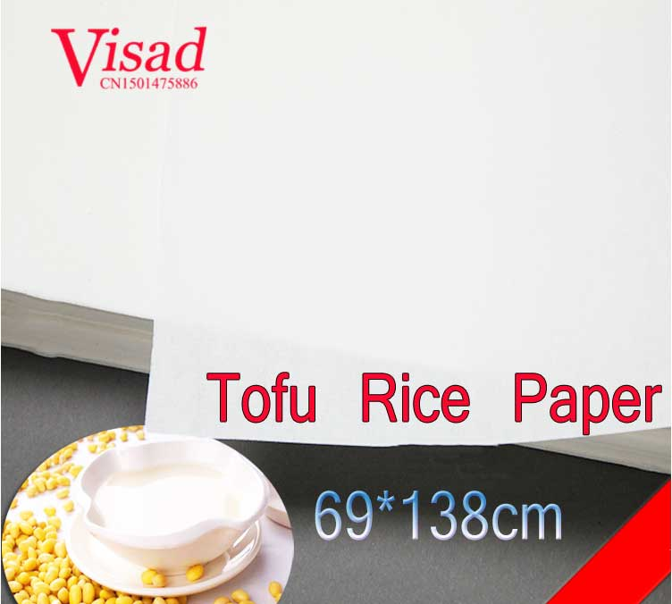 highest quality japanese Tofu Rice Paper decoupage painting paper drawing Xuan Paper watercolor paper painting supplies 45cm 10m water color painting paper a2 watercolor paper for acrylic paint painting drawing art set rice paper roll