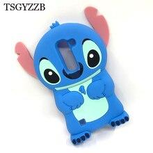 3D Cute Cartoon Stitch Case For LG Spirit 4G LTE H440N H420 H422 C70 / K7 K 7 Q7 / K 8 K8 Lte Soft Silicone Phone Cover Cases стоимость