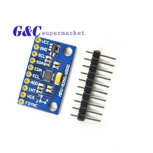 Integrated Circuits SPI/IIC MPU-9250 9-Axis Attitude +Gyro+Accelerator+Magnetometer Sensor Module GY-9250 MPU