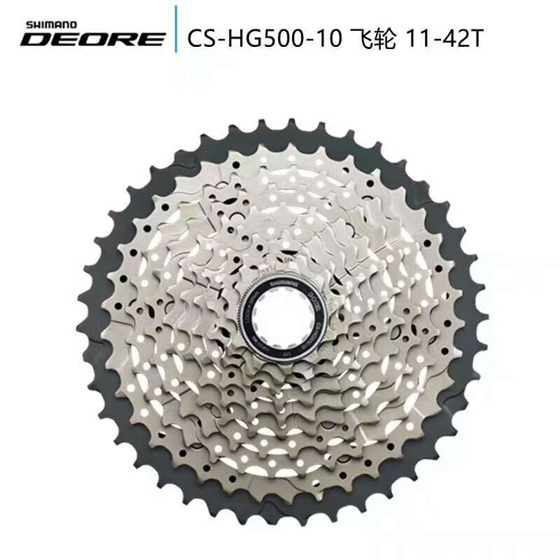 NEW SHIMANO DEORE M6000 HG500-10 Cassette 10S 10speed MTB bike bicycle freewheel Deore 11 - 42T цена