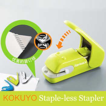 Japan KOKUYO Staple Free Stapler Harinacs Press Creative & Safe Student Stationery - DISCOUNT ITEM  8% OFF All Category