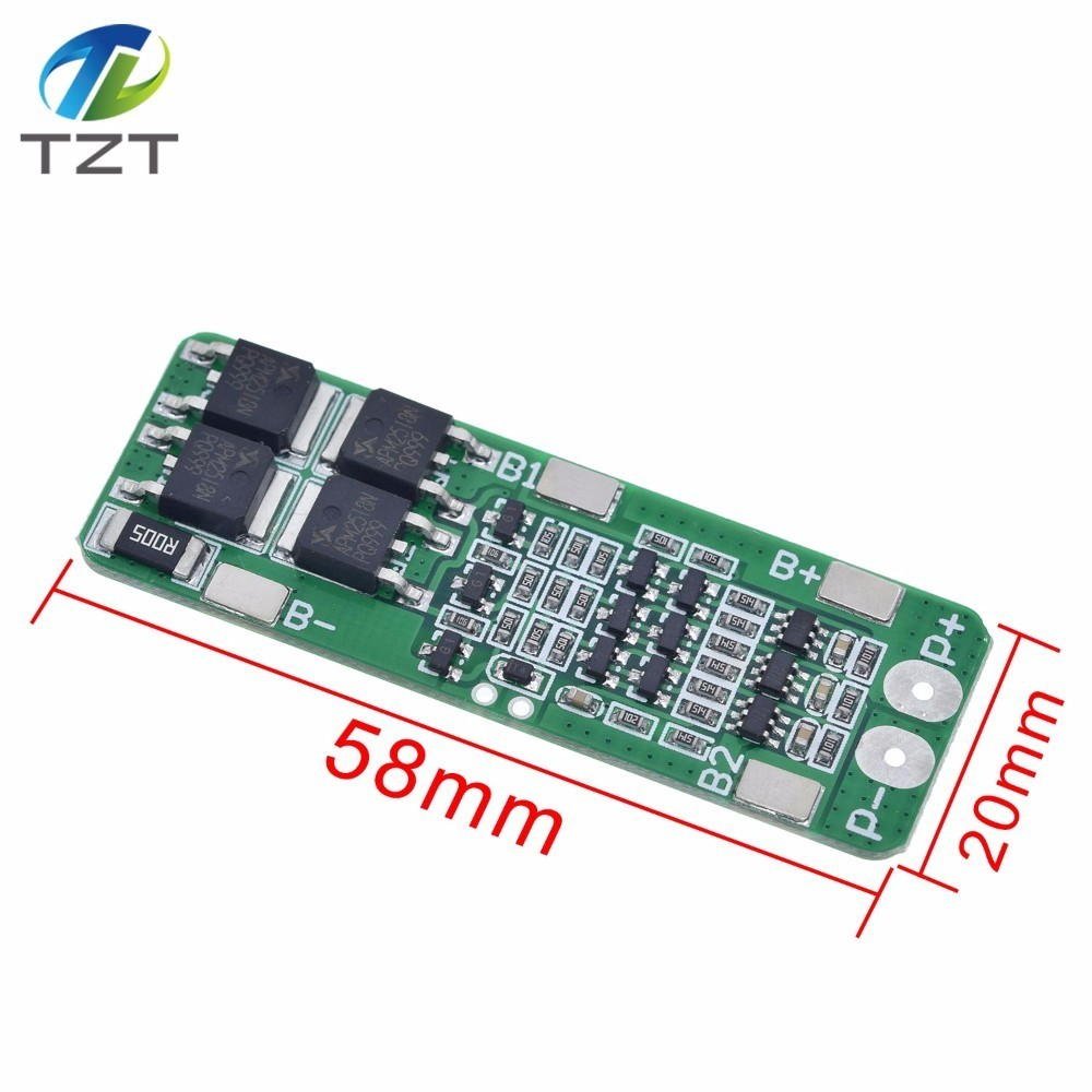 3S 20A Li-ion Lithium Battery 18650 Charger PCB BMS Protection Board Cell DE