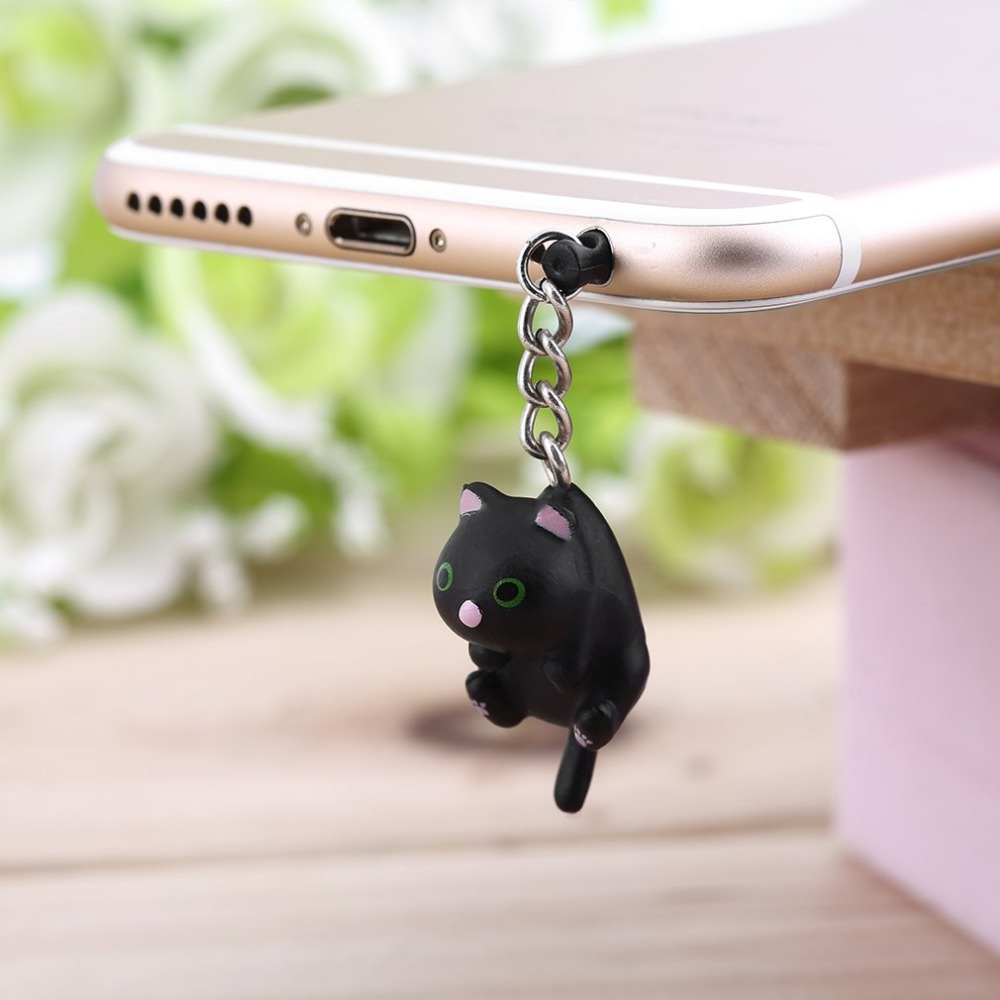 ONLENY Hot Sales Cute Dust Plug 3.5mm Headphones Gadgets Uni